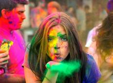 Festival of Colors - Holi with Golden Triangle tour of India Tour