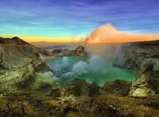 3D2N Nature Escape in Banyuwangi: Savanna Tour, Baby Turtle Release, Ijen Trekking Tour