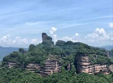 Private 3-Day Tour to Gulong Canyon, Peak Corridor and Mt Danxia from Guangzhou Tour