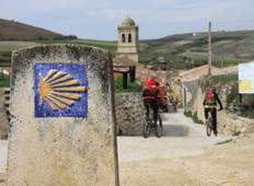 """Camino de Santiago\"" (Way of St James): French Way by bike from Leon  Tour"