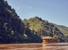 8-Day Upper Mekong River Cruise Through Northern Laos from Luang Prabang to Chiang Rai Tour