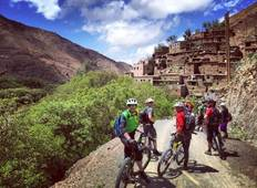 Cycling & Biking Trip in Marrakech Atlas Mountains Imlil & Ouirgane Tour