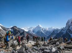 3 high pass Everest Trekking  Tour