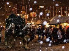 Classic Christmas Markets featuring markets in Innsbruck, Munich, Strasbourg, Nuremberg and Würzburg (Oberammergau to Wurzburg) Tour