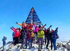 """ToubKal Ascent 4167 m All Seasons Trekking 