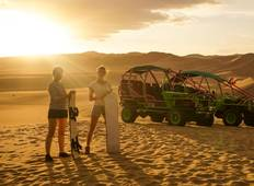 6 days - Lima - Huacachina including Nazca Lines Tour
