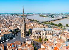 Cruise through the Aquitaine Region from Bordeaux to Royan, along the Gironde Estuary and the Garonne and Dordogne Rivers (port-to-port cruise) Tour
