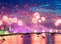 Neujahr in Sankt Petersburg Rundreise