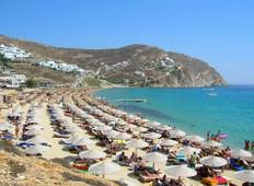 Enjoy stay at Mykonos Kosmoplaz Beach Resort Hotel Tour