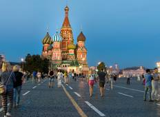 Discover a New Adventure  in Moscow City for 3 Nights Tour