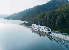 Self-Guided: Inside Passage & Rocky Mountains  Tour