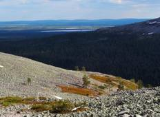 The Fells and Lakes of Western Lapland Tour