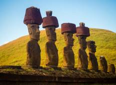 Discover the mystical Easter Island and its famous gigantic stone statues Tour