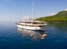 4-day Split to Dubrovnik one-way - Premier boat, 18-39s Tour