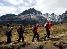 5 Days Climbing Mt Kenya (Sirimon Route) Tour