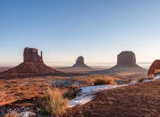 Grand Canyon Zion Monument Valley - 4 Days National Park Winter Adventure Tour