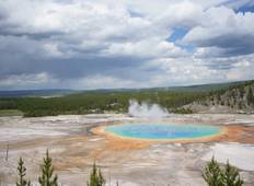5 Days Yellowstone and Grand Tetons National Park Adventure Tour
