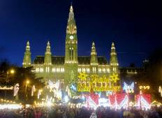Christmastime on the Danube with 2 Nights in Prague (Eastbound) Tour