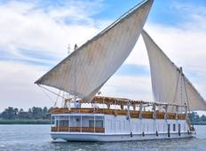 "4 Days Sailing ""Dahabiya Nile Cruise\"" from Aswan to Luxor Tour"