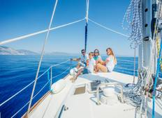 Family sailing trip from Zadar in Croatia Tour