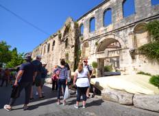 Challenging 7 day self guided bike tour Dalmatian Coast Tour