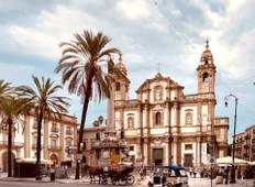 ITALY — Baroque towns and country game in Sicily Tour