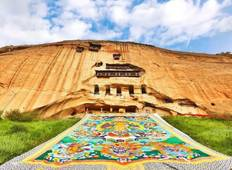 6 Days Gansu Silk Road Tour to Rainbow Mountain & Mogao Grottoes Tour