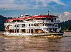 12 day Myanmar Exotic Chindwin and Irrawaddy River Cruise Tour