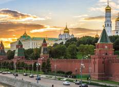 Jewels of Russia 2021 (Start Moscow, End St Petersburg) Tour