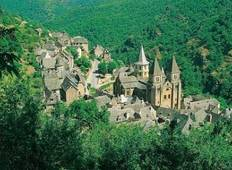 The Way of St James - Aumont to Conques Tour
