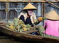 Biking 3 days/2 nights - Saigon to Vinh Long to Can Tho Tour