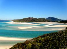 Brisbane to Cairns Experience: Sand Dunes & the Whitsundays Tour