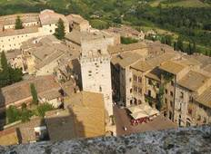 Cycle San Gimignano to Siena Tour