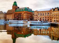 Northern Capitals with St. Petersburg (from Copenhagen to St Petersburg) Tour