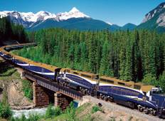 Great Resorts of the Canadian Rockies with the Rocky Mountaineer Tour