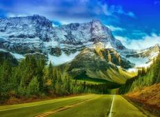 Heart of the Canadian Rockies with Calgary Stampede Tour