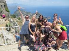 Amalfi Coast Tour From Rome For 18 -39\'s Tour