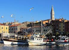 Coastal Croatia: Pula to Porec Self-Guided (8 destinations) Tour