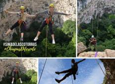 Total Adventure in Chiapas. 8 Days 7 Nights. Mountain Bike, Rappel, Rafting. Tour