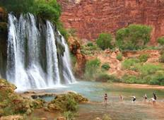 US - Havasupai Grand Canyon Deluxe Guided Trekking Tour Tour