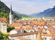 Mountains, Valleys & Lakes of Switzerland (17 destinations) Tour