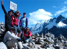 Salkantay Trek to Machu Picchu (Start Trek on Day 1) (4 days) Tour