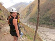 Machu Picchu Jungle Trek 5D/4N (Biking, Zip-Line & Rafting) Tour