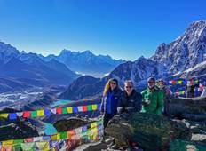 Everest Base Camp - Chola Pass - Gokyo Lake Trek Rundreise
