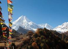 16 days trek itinerary to Manaslu Circuit via Arughat, Sama Gaou and Larkey Pass Tour