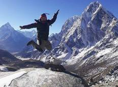 22 days Everest Base Camp Trek through 3 High Passes Tour