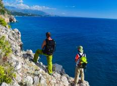 The Peak of Qorre and the Ionian coast: a short, intense and Diversified Trip Tour