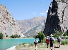 Trekking in the Gissar, Fann and Pamir Mountains Tajikistan Tour
