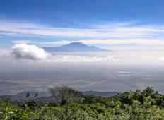 Mount Meru Trekking (including Arusha National Park) Tour