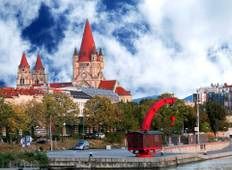 Trans-European cruise from Budapest to Strasbourg (16 destinations) Tour